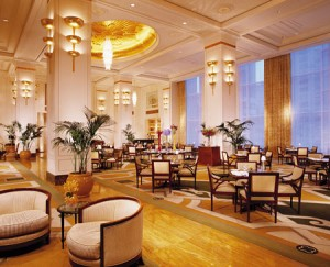 The Lobby (image courtesy of Peninsula Hotels)