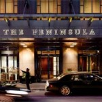 Peninsula Hotel Chicago (image courtesy of Peninsula Hotels)