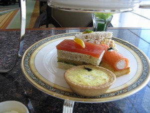 Afternoon Tea Savouries (image fom HighTea.com)