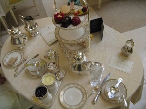 Table Setting for Afternoon Tea (image credit HighTea.com)