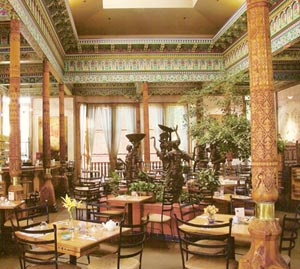 Boulder Dushanbe Teahouse Interior (image courtesy of The Boulder Dushanbe Teahouse)