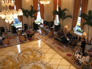 The Champagne Bar at The Plaza Hotel (image credit: HighTea.com)