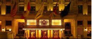 The Plaza Hotel Entrance (image courtesy of The Plaza Hotel)