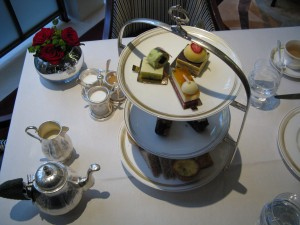 Table Setting for Afternoon Tea at The Lanesborough Hotel, London (image credit HighTea.com)