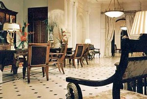 The Lanesborough Lobby (image courtesy of The Lanesborough Hotel)