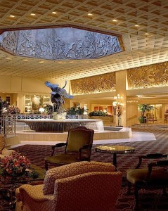 Lobby of The Ritz Carlton, Chicago (image courtesy of The Ritz Carlton)