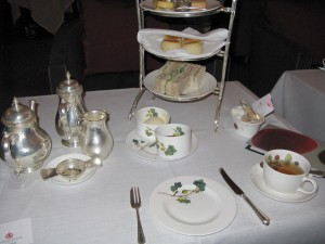 Table Setting at Brown's Afternoon Tea ©HighTea.com
