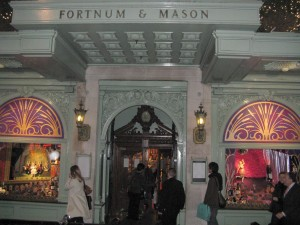 Fortnum and Mason Main Entrance on Piccadilly ©HighTea.com