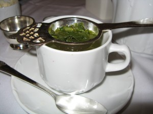 Japanese Sencha Tea at The Waldorf (image credit: HighTea.com)