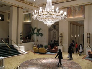 Park Avenue Lobby at The Waldorf Astoria (image credit: HighTea.com)