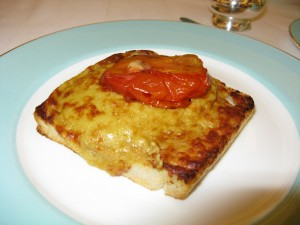 Welsh Rarebit served with High Tea at Fortnum and Mason ©HighTea.com
