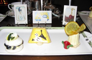 Art inspired pastries ©HighTea.com