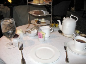 Table Setting at Four Seasons, Chicago - image©HighTea.com