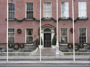 Georgian entrance to Merrion Hotel, Dublin ©HighTea.com