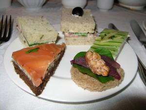 Tea Sandwiches at Four Seasons, Chicago High Tea image©HighTea.com