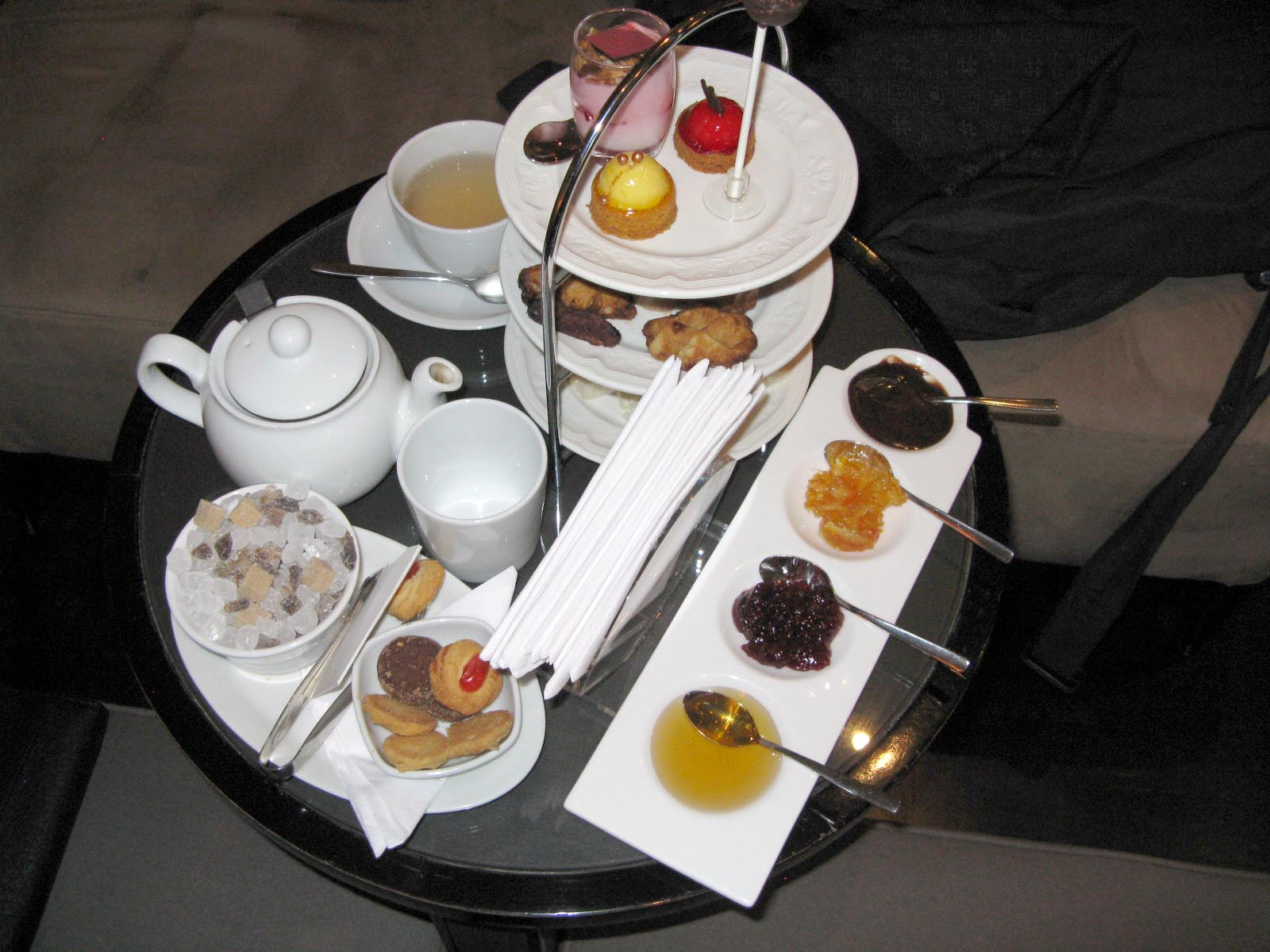 tea table settings tables - photo #21