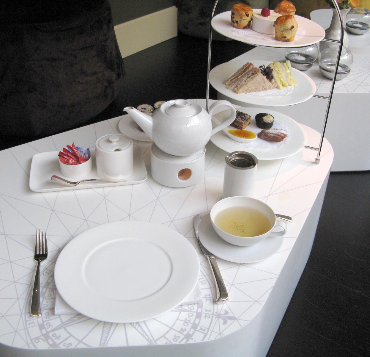 Tea Table Setting ~ crowdbuild for .