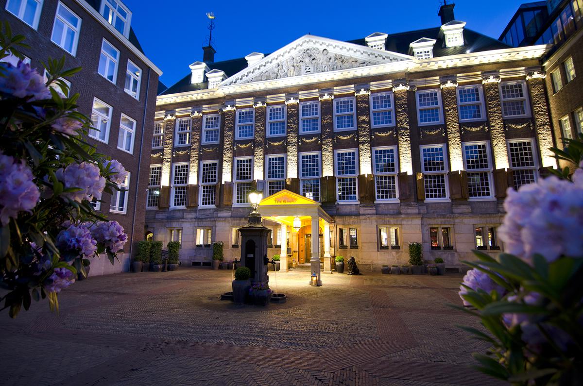Bridges Restaurant Grand Hotel Amsterdam