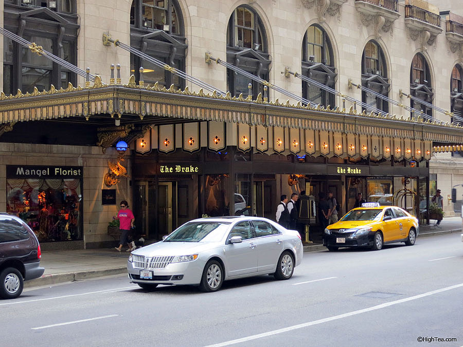 The Drake Hotel's Entrance on E. Walton Pl. Chicago