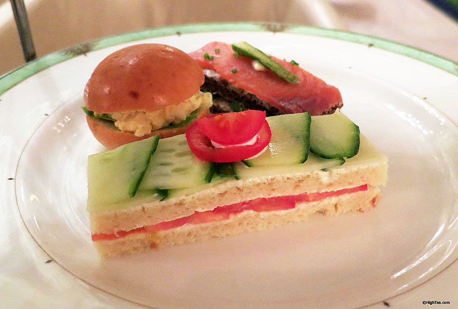 finger sandwiches and tea sandwiches at The Drake Hotel Chicago for afternoon tea