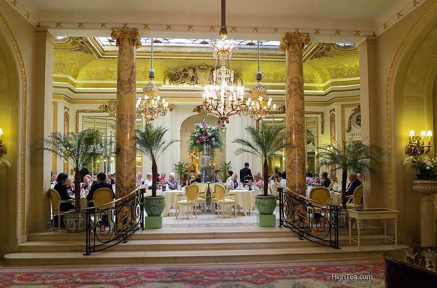 The Palm Court at The Ritz London Hotel