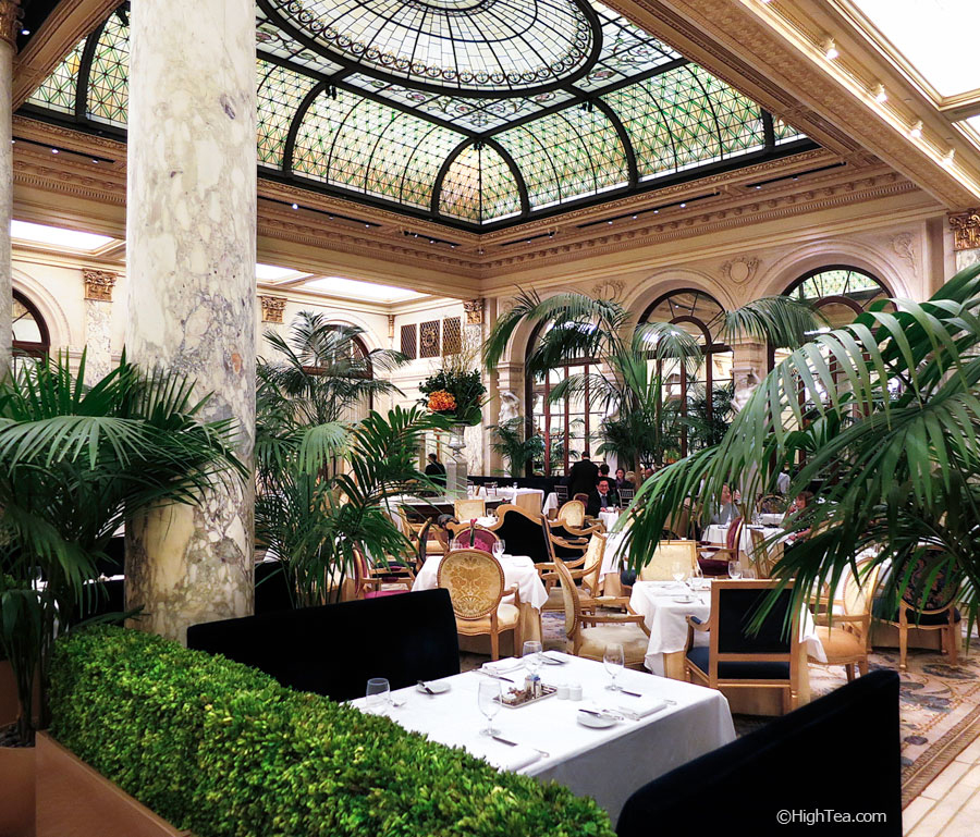 Palm Court at The Plaza Hotel in New York for Afternoon Tea
