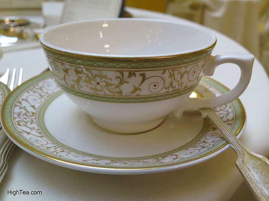 Afternoon Tea Cup in The Palm Court of The Ritz London
