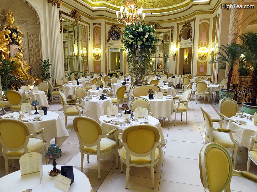 The Palm Court at The Ritz London Hotel for Afternoon Tea