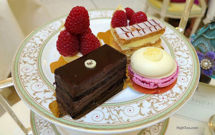 Sweets, Pastries and Cakes for Afternoon Tea at The Ritz London Hotel