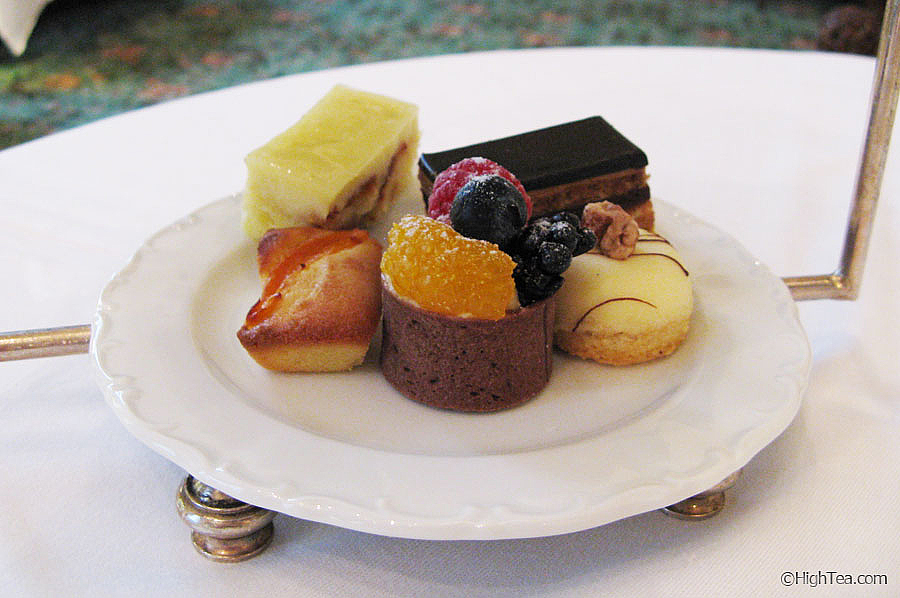sweets pastries Waldorf Astoria New York Afternoon Tea High Tea