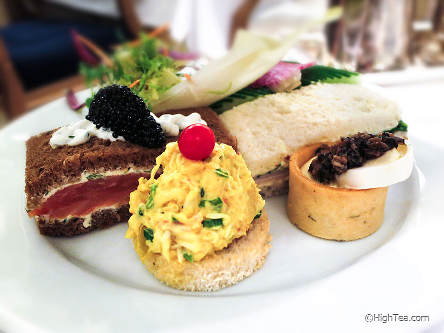 Tea sandwiches at The Plaza Hotel in New York City