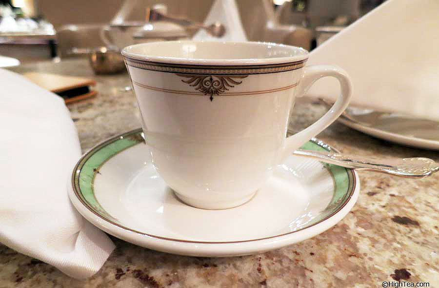 Tea cup by Steelite England Drake Hotel Afternoon Tea