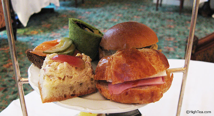 Tea sandwiches at Waldorf Astoria New York City Afternoon Tea