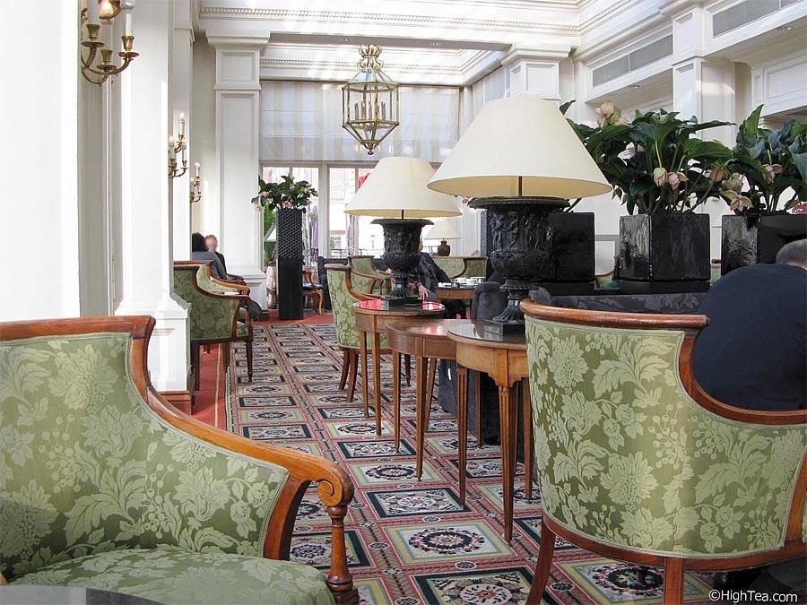 Amstel Hotel Afternoon Intercontinental Tea Brasserie Amsterdam