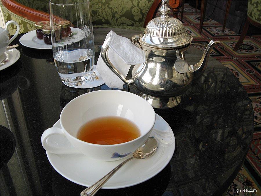 Tea at Amstel Hotel Amsterdam Netherlands