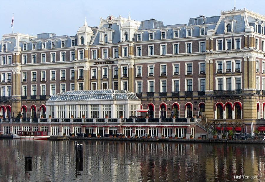 Intercontinental Amstel Hotel Exteior Amsterdam Netherlands