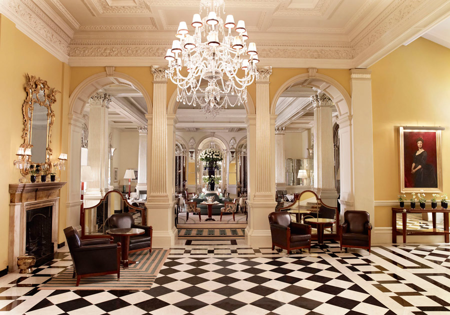 Claridge's-lobby-London-Mayfair