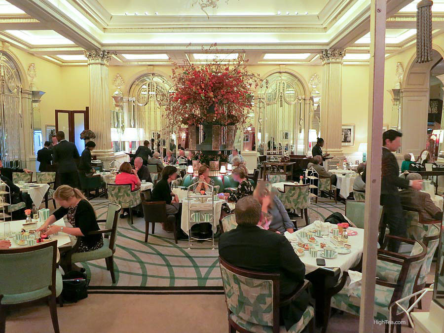 The Foyer at Claridges for Afternoon Tea in London Mayfair