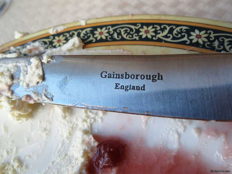 A Gainsborough knife for afternoon tea The Peninsula Hotel Chicago