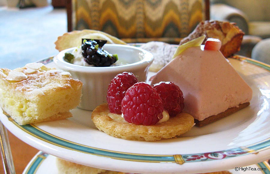 Sweets and pastries at Ritz Carlton Chicago Hotel Afternoon Tea