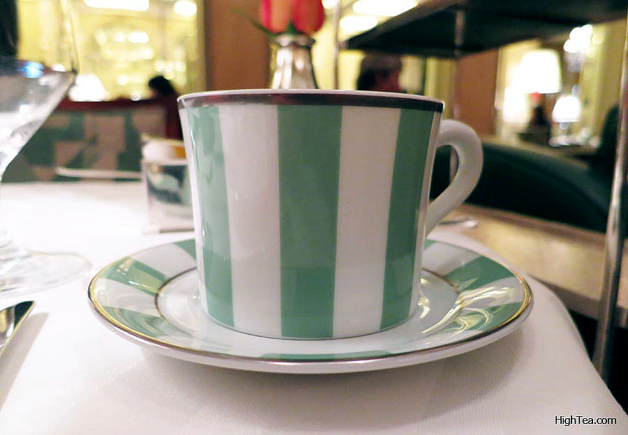 Teacup at Claridges Bernardaud china for Afternoon Tea in London Mayfair